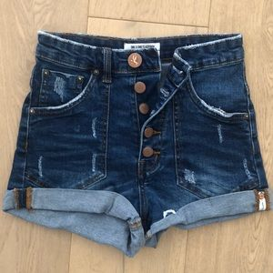 One by teaspoon denim shorts